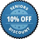 Seniors receive 10% parts